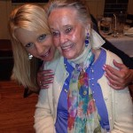 Yvonne with Lorraine Warren